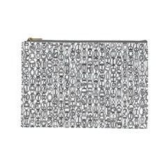 Abstract Knots Background Design Pattern Cosmetic Bag (large)