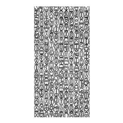 Abstract Knots Background Design Pattern Shower Curtain 36  X 72  (stall)