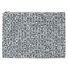 Abstract Knots Background Design Pattern Cosmetic Bag (xxl)