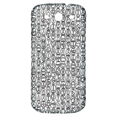 Abstract Knots Background Design Pattern Samsung Galaxy S3 S Iii Classic Hardshell Back Case