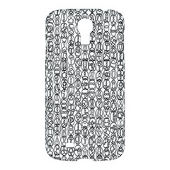Abstract Knots Background Design Pattern Samsung Galaxy S4 I9500/i9505 Hardshell Case