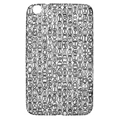 Abstract Knots Background Design Pattern Samsung Galaxy Tab 3 (8 ) T3100 Hardshell Case