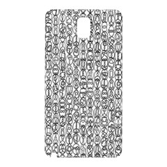 Abstract Knots Background Design Pattern Samsung Galaxy Note 3 N9005 Hardshell Back Case