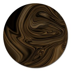 Abstract Art Magnet 5  (round)