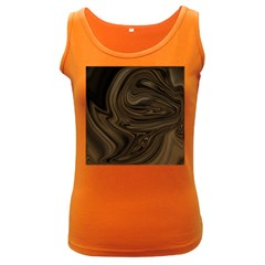 Abstract Art Women s Dark Tank Top