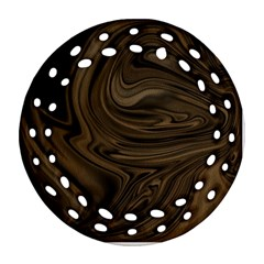 Abstract Art Ornament (round Filigree)