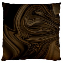 Abstract Art Large Flano Cushion Case (two Sides)