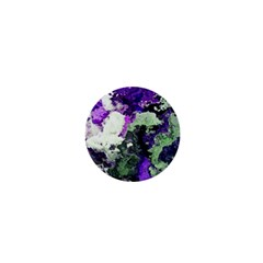 Background Abstract With Green And Purple Hues 1  Mini Magnets