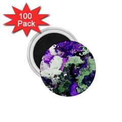Background Abstract With Green And Purple Hues 1 75  Magnets (100 Pack)