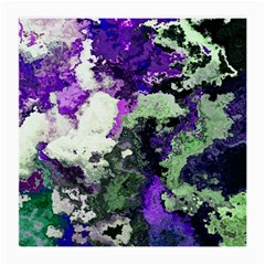 Background Abstract With Green And Purple Hues Medium Glasses Cloth