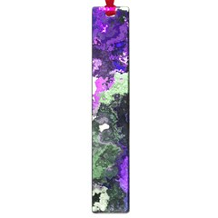 Background Abstract With Green And Purple Hues Large Book Marks