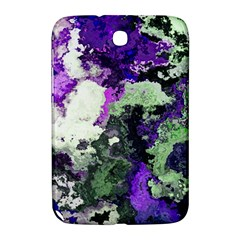 Background Abstract With Green And Purple Hues Samsung Galaxy Note 8.0 N5100 Hardshell Case