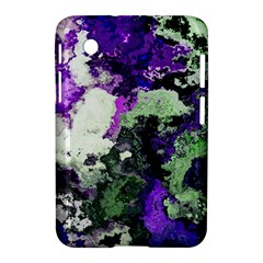 Background Abstract With Green And Purple Hues Samsung Galaxy Tab 2 (7 ) P3100 Hardshell Case