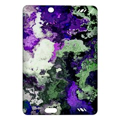 Background Abstract With Green And Purple Hues Amazon Kindle Fire Hd (2013) Hardshell Case