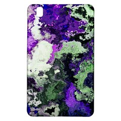 Background Abstract With Green And Purple Hues Samsung Galaxy Tab Pro 8.4 Hardshell Case