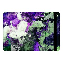 Background Abstract With Green And Purple Hues Samsung Galaxy Tab Pro 10 1  Flip Case