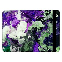 Background Abstract With Green And Purple Hues Samsung Galaxy Tab Pro 12.2  Flip Case