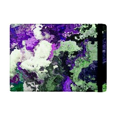 Background Abstract With Green And Purple Hues Ipad Mini 2 Flip Cases