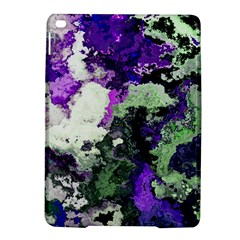 Background Abstract With Green And Purple Hues iPad Air 2 Hardshell Cases