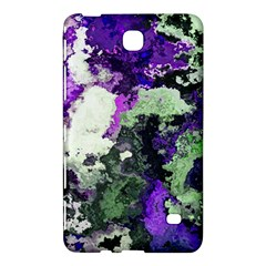 Background Abstract With Green And Purple Hues Samsung Galaxy Tab 4 (8 ) Hardshell Case