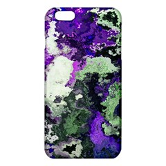 Background Abstract With Green And Purple Hues iPhone 6 Plus/6S Plus TPU Case