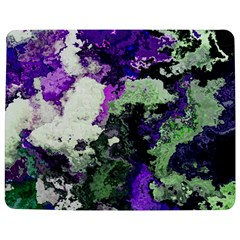 Background Abstract With Green And Purple Hues Jigsaw Puzzle Photo Stand (rectangular)