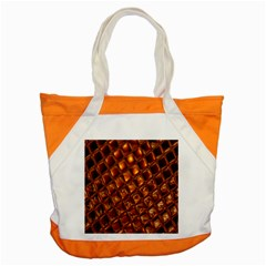 Caramel Honeycomb An Abstract Image Accent Tote Bag