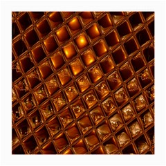 Caramel Honeycomb An Abstract Image Medium Glasses Cloth (2-Side)