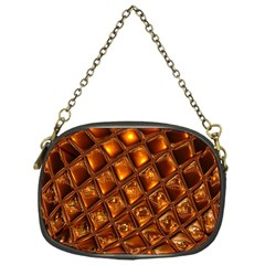 Caramel Honeycomb An Abstract Image Chain Purses (One Side)