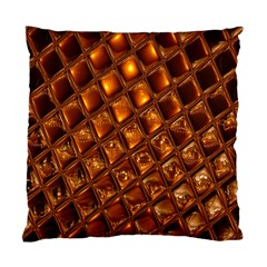 Caramel Honeycomb An Abstract Image Standard Cushion Case (two Sides)