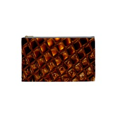 Caramel Honeycomb An Abstract Image Cosmetic Bag (Small)