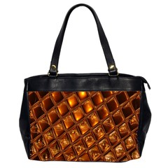 Caramel Honeycomb An Abstract Image Office Handbags (2 Sides)