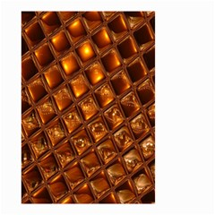 Caramel Honeycomb An Abstract Image Small Garden Flag (Two Sides)