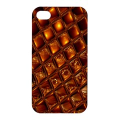 Caramel Honeycomb An Abstract Image Apple iPhone 4/4S Premium Hardshell Case