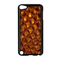 Caramel Honeycomb An Abstract Image Apple Ipod Touch 5 Case (black)
