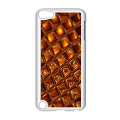 Caramel Honeycomb An Abstract Image Apple iPod Touch 5 Case (White)