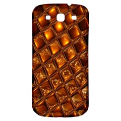 Caramel Honeycomb An Abstract Image Samsung Galaxy S3 S III Classic Hardshell Back Case