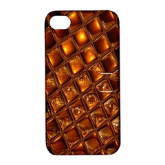 Caramel Honeycomb An Abstract Image Apple iPhone 4/4S Hardshell Case with Stand
