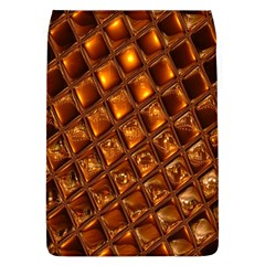 Caramel Honeycomb An Abstract Image Flap Covers (L)