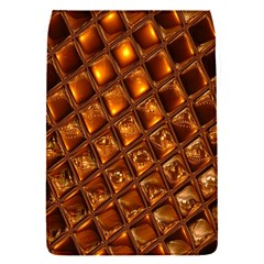 Caramel Honeycomb An Abstract Image Flap Covers (S)