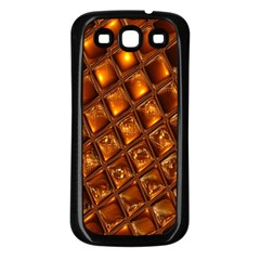 Caramel Honeycomb An Abstract Image Samsung Galaxy S3 Back Case (black)