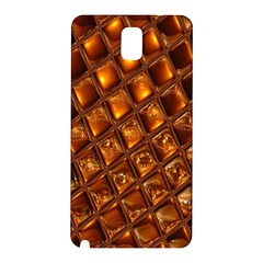 Caramel Honeycomb An Abstract Image Samsung Galaxy Note 3 N9005 Hardshell Back Case