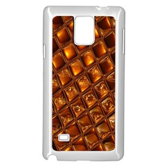 Caramel Honeycomb An Abstract Image Samsung Galaxy Note 4 Case (white)