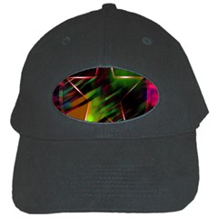 Colorful Background Star Black Cap