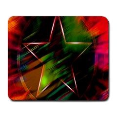 Colorful Background Star Large Mousepads