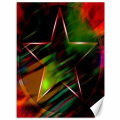 Colorful Background Star Canvas 36  X 48