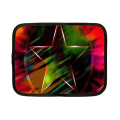 Colorful Background Star Netbook Case (Small)