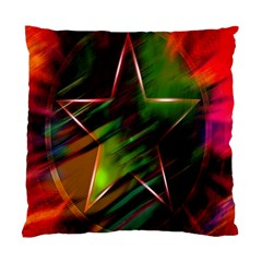 Colorful Background Star Standard Cushion Case (one Side)