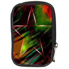 Colorful Background Star Compact Camera Cases
