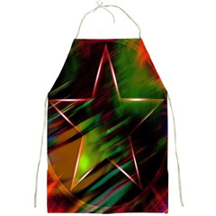 Colorful Background Star Full Print Aprons